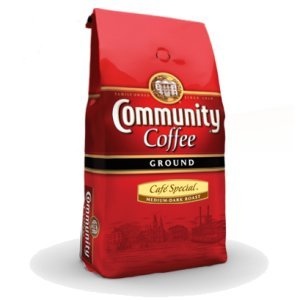 Community Coffee Med-Dark Roast Cafe Special 2.5 LB
