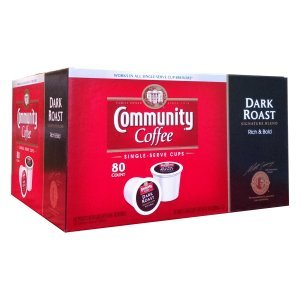 Community Dark Roast Coffee Single Serve 80 Ct