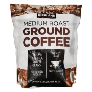 Kirkland Signature Medium Roast Ground Coffee 2.5 Lbs
