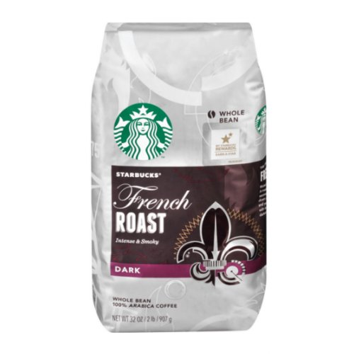 Starbucks French Roast Dark Whole Bean Coffee - 40 oz - Click Image to Close