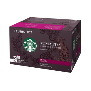 Starbucks Sumatra Coffee K Cups 72 ct