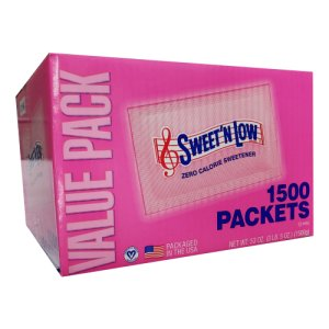 Sweet 'N Low 1500 ct Zero Calorie Sweetner - Portion Packets